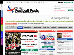 Lotteries from The New Football Pools